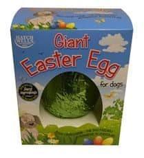 Hatchwells dog giant easter egg